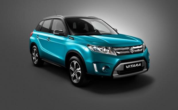 Nueva Suzuki Vitara 2015, primera foto oficial
