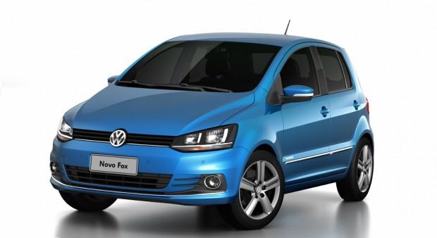 El nuevo Volkswagen Fox línea 2015 se presenta en Brasil