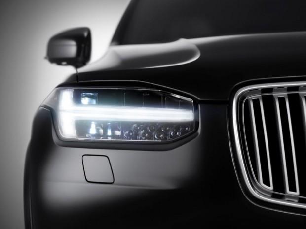 Nuevo Volvo XC90, Sobre Plataforma SPA