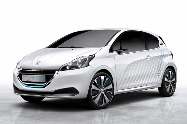 Peugeot 208 Hybrid Aire 2L, estará presente en el Salón de París
