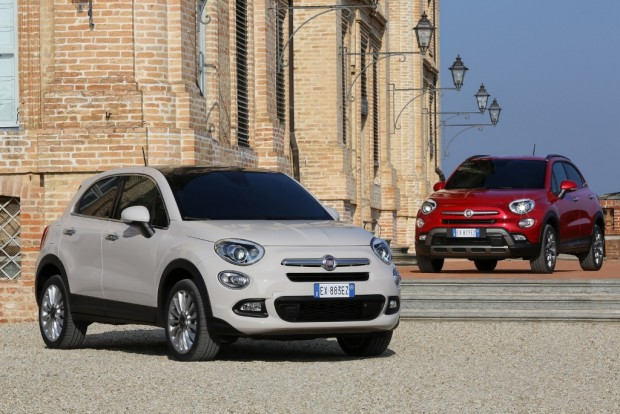 Fiat 500X, todas las versiones disponibles para Italia