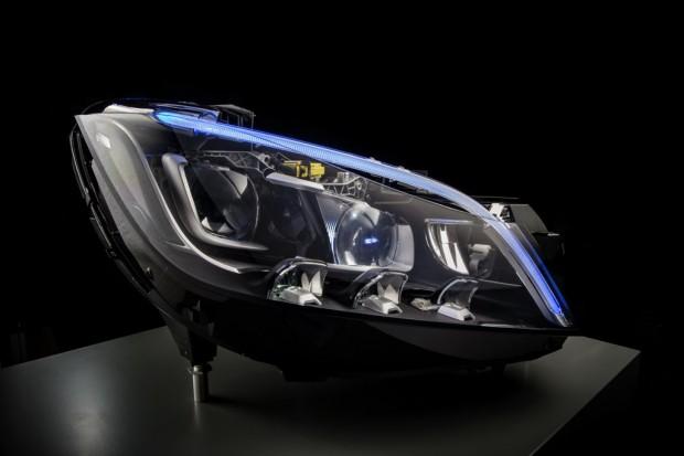 El Futuro de la Iluminación LED según Mercedes Benz