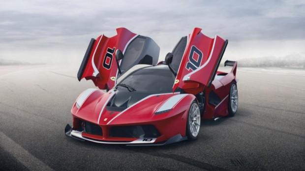 Nueva Ferrari FXX K