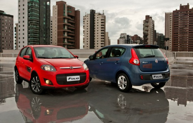 El Fiat Palio fue el auto más vendido en Brasil en 2014