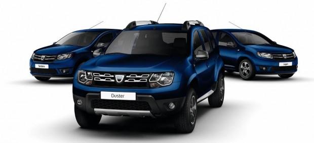 Dacia cumple 10 años en Europa y lo festeja con ediciones limitadas en color Azul en toda su gama
