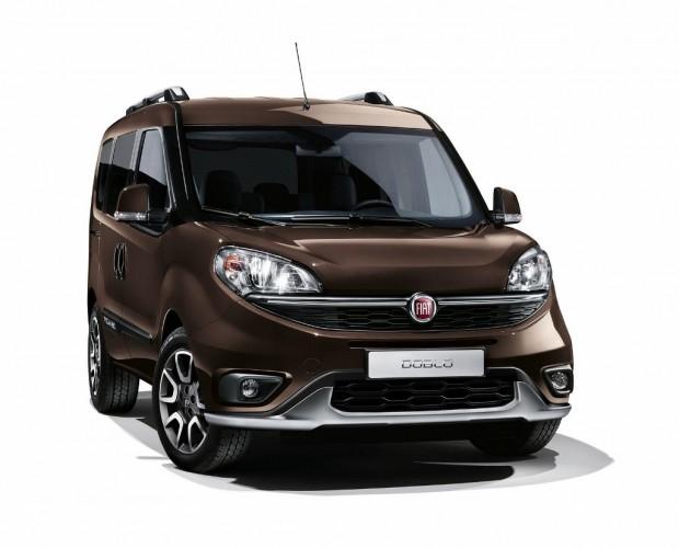 El nuevo Fiat Doblo Trekking será presentado en Salón de Ginebra