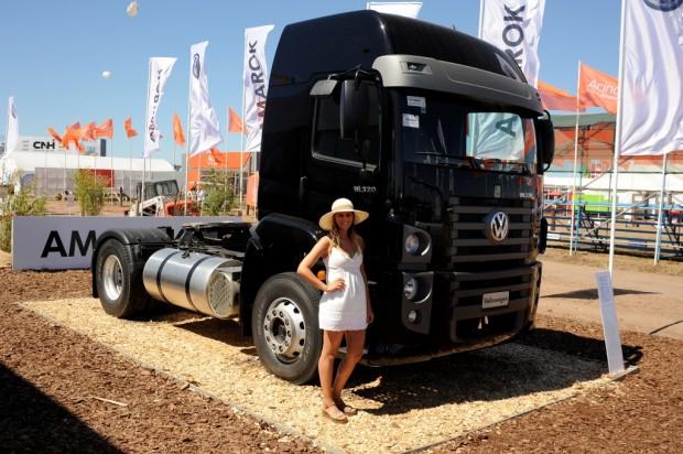 Pick ups y camiones Volkswagen presentes en Expoagro