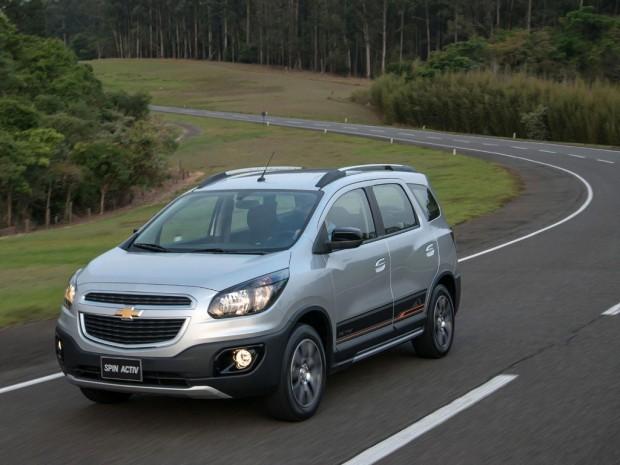 El Chevrolet Spin Activ disponible en Argentina desde 224.800 pesos