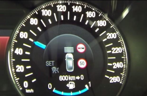 Ford introduce el limitador inteligente de velocidad