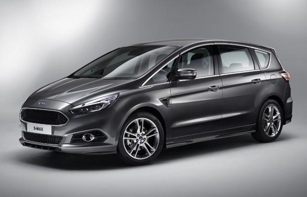 El nuevo Ford S-Max Titanium Sport, se presenta en el salón de Ginebra