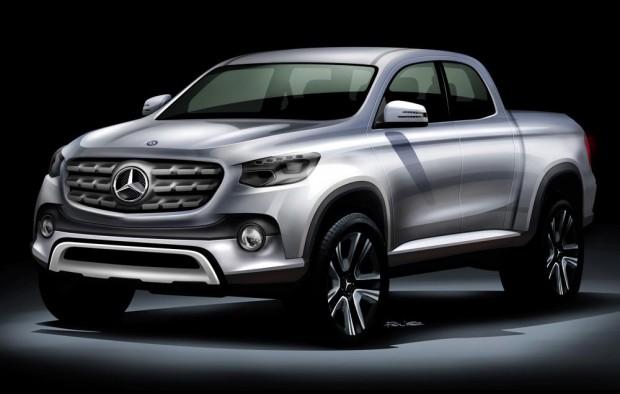 Mercedes-Benz lanzará su pickup mediana
