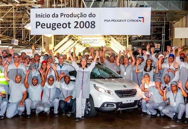 PSA inició la producción del nuevo Peugeot 2008