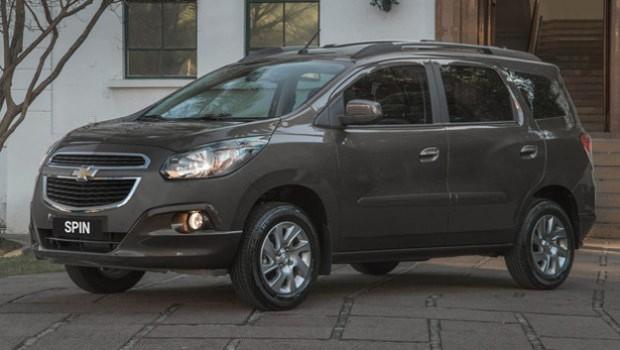 El Chevrolet Spin es llamado a revisión en Brasil
