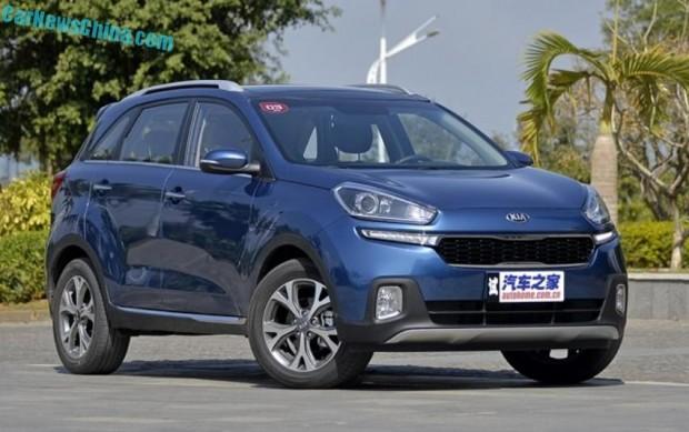 El Kia KX3 se presenta oficialmente en China