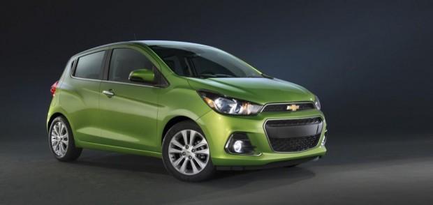 El nuevo Chevrolet Spark se presentó en el Salón de New York
